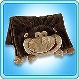 The Original My Pillow Pets Monkey Blanket (Brown)