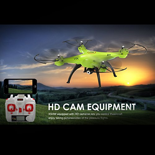 REALACC-X5HW-WIFI-FPV-Quadcopter-With-Camera-24G-4CH-6Axis-High-Hold-Mode-Remote-Control-Toy-Quadcopter-Drone-RTF-Mode-2