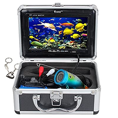"Eyoyo Original 30m Professional Fish Finder Underwater Fishing Video Camera 7"" Color HD Monitor 1000TVL HD CAM"
