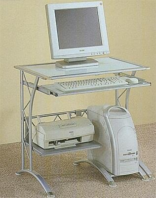 Buy Low Price Comfortable Compact Computer Desk – Coaster 7176 (B005LWSEG4)