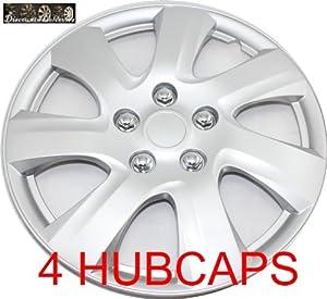 16 set of 4 hubcaps fit 2006 2011 toyota camry matrix wheel html autos weblog. Black Bedroom Furniture Sets. Home Design Ideas