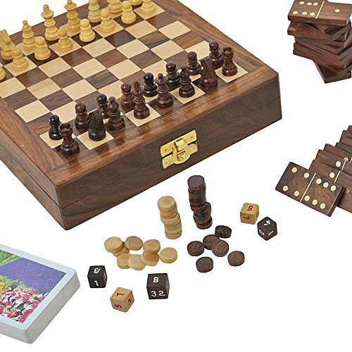 Wooden board game for adults three in one chess backgammon for Table games for adults