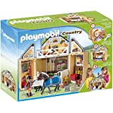 Playmobil Country 5418 - Jeu de construction - Ecurie transportable