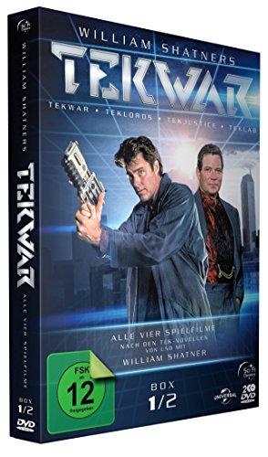 TekWar - Box 1/2: Alle vier Spielfilme [2 DVDs]