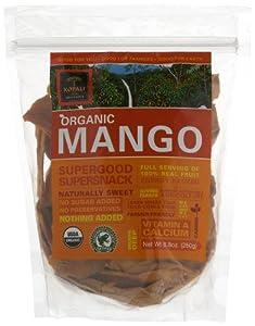 Kopali Organics Mango, 8.8-Ounce Pouches (Pack of 3)