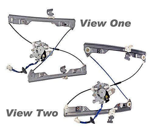 APDTY 862323 Power Window Regulator and Motor Assembly(Fits 2002-2006 Nissan Altima)Vehicles with Auto Up/Down Only,Front Right/Passenger Side,Plug & Play - No Wire Splicing Necessary,Replaces Factory OEM Part Number(s)- 807208J000, 807308J015