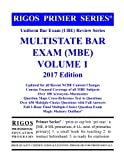 img - for Rigos Primer Series Uniform Bar Exam (UBE) Review Multistate Bar Exam (MBE) Volume 1: 2017 Edition book / textbook / text book