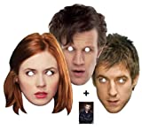 *Mask Pack* Doctor Who and Companions Party Face Ma