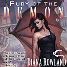 Fury of the Demon: Kara Gillian, Book 6 (       UNABRIDGED) by Diana Rowland Narrated by Liv Anderson