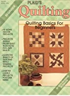 Quilting Basics for Beginners by Ruth…