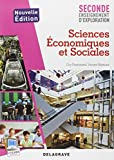 Sciences Economiques et Sociales 2e enseignement d'exploration