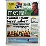 METRO [No 1865] du 01/10/2010 - LES 1ERES IMAGES DES OTAGES DU NIGER - LA MORT DE TONY CURTIS - CONTADOR A L'INSU...