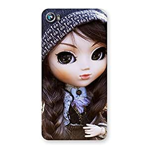 Premium Sweet Angel Doll Multicolor Back Case Cover for Micromax Canvas Fire 4 A107