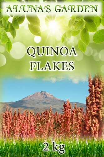 Finest Quality White Quinoa Flakes 2kg - Organically Sourced