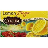 Celestial Seasonings Lemon Zinger Tea, 20 Count (Pack of 6)
