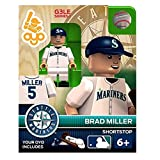 Brad Miller MLB Seattle Mariners Oyo G3S1 Minifigure