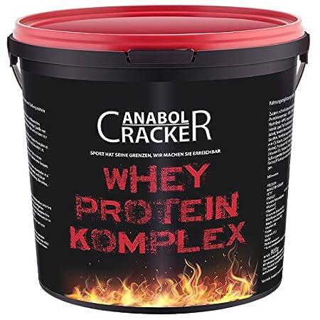 Whey Protein Creatin Komplex, 1800g, Eiweißpulver, Aminosäuren, Muskelaufbau Kombi (Banane)