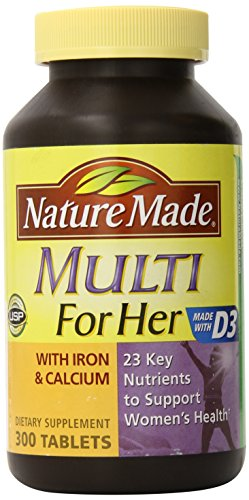 Nature Made Multi for Her - 300 Tablets (Womans Vitamins Nature Made compare prices)