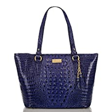 Medium Asher Tote<br>Turkish Blue Melbourne