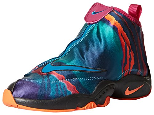 Nike Men's Air Zoom Flight The Glove PRM Grn Abyss/Blk/Brght Mgnt/Trf O Basketball Shoe 11.5 Men US (Gary Payton compare prices)
