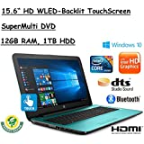 "2017 Flagship Model HP 15.6"" HD TouchScreen Premium High Performance WLED-Backlit Laptop, 7th Gen. Intel Core..."