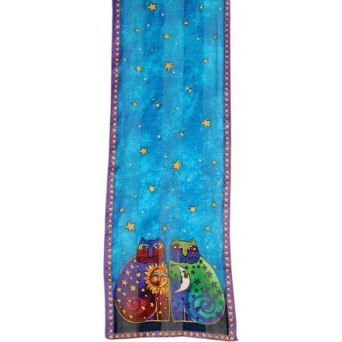 laurel-burch-scarves-celestial-felines