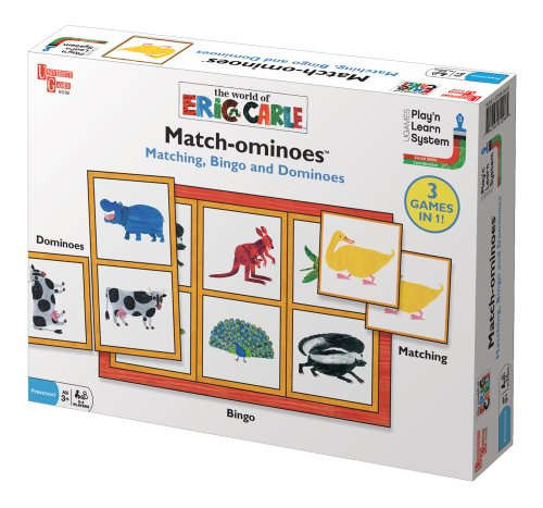 Cheap University Games Eric Carle Games and Puzzles System – Eric Carle's Match-ominoes (B003G9OBP2)
