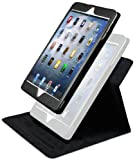 LUVVITT® SHIFTER 2 Piece Convertible Case and Cover Combo for iPad MINI (With Auto-Screen Sleep/Awake Function) - Black