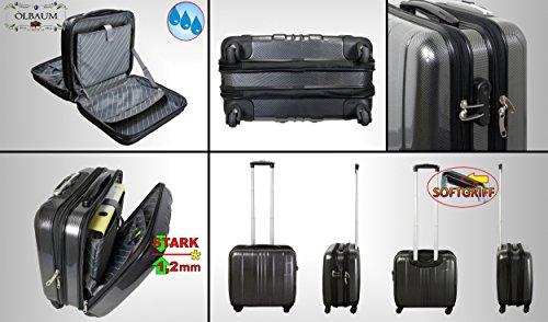 1x-Hardcasekoffer-PREMIUM-Pilotenkoffer-Setangebot-standfest-gro-mit-4-Rollen-silber-robuster-XXL-Auendienst-Koffer-standfest-Business-Reisekoffer