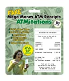 Big Mouth Toys Fake ATM Receipts