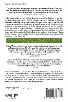 The Case for Peace: How the Arab-Israeli Conflict Can be ResolvedPaperback– August 1,