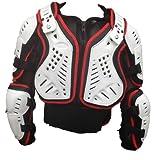Motocross Enduro Erwachsenen Off Road Körperpanzer Jacke Motorradschutzweste M Rot