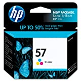 HP 57 Tri-Color Inkjet Print Cartridge (C6657AN)