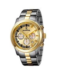 "JBW-Just Bling Men's JB-6218-C ""Delano"" Two-Tone Chronograph Diamond Watch"