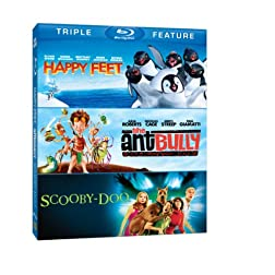 Happy Feet / Ant Bully / Scooby-Doo: The Movie [Blu-ray]