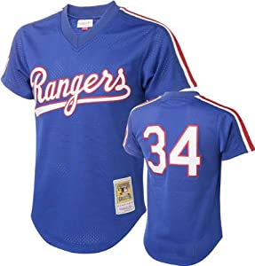 MLB Mitchell & Ness Nolan Ryan Texas Rangers 1989 Authentic Cooperstown... by Mitchell & Ness