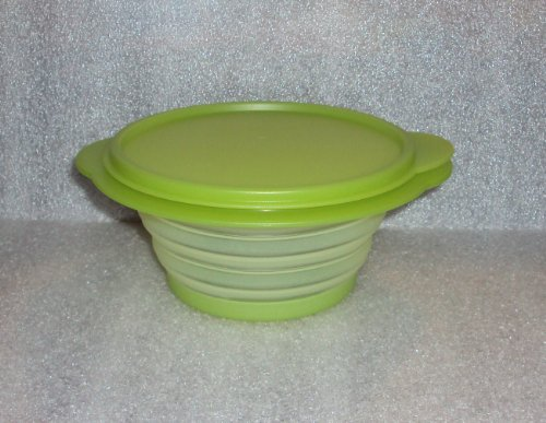 Tupperware FlatOut 3-cup container in Galaxy Green (Outdoor Chest Freezer compare prices)