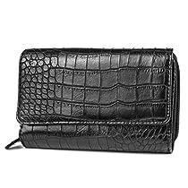MUNDI Big Fat Wallet,Black,one size