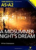 img - for A Midsummer Night's Dream: York Notes for AS & A2 (York Notes Advanced) by Michael Sherborne (2013-07-29) book / textbook / text book