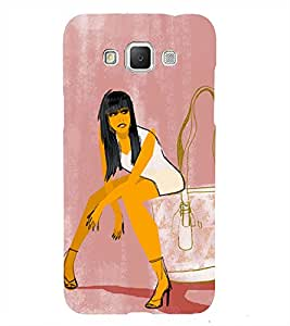 Young City Girl 3D Hard Polycarbonate Designer Back Case Cover for Samsung Galaxy Grand Max