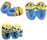 3D Despicable Me Minion Stewart Figure Shoes Plush Toy Slipper One Size Doll
