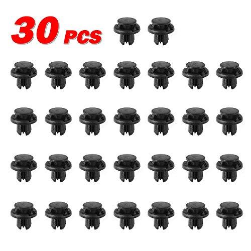 partssquare-30pcs-fender-liner-fastener-rivet-push-clips-retainer-for-honda-acura-rl