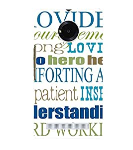 Printvisa Multiple Quotes And Lessons Back Case Cover for YU Yuphoria::Micromax Yuphoria YU5010