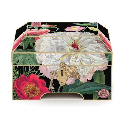 Works Memento Box with Notecards, Palm Island - Decorative Boxes
