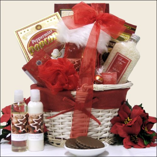 Great Arrivals Spa Holiday Christmas Gift Basket,