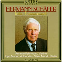 Hermann Schaefer: Fruehe Kammermusik