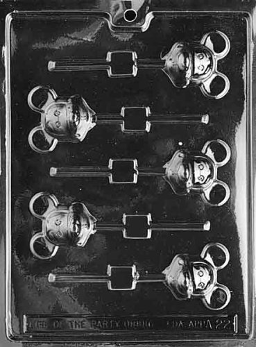 Learn More About MOUSE LOLLY (MICKEY) Animal Candy Mold Chocolate