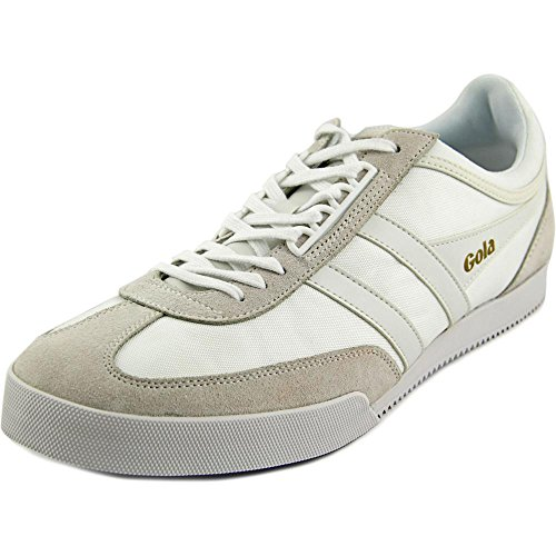 Gola Men's Super Harrier Fashion Sneaker, White/White, 10 UK/10 M US