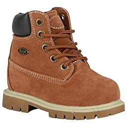 Lugz Infants/Toddlers Drifter 6,Rust/Cream/Bark/Gum Thermabuck,US 9 D