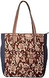 Women's Handbag - Fable Folks Women's Shoulder Bag Multi-Colored FF017